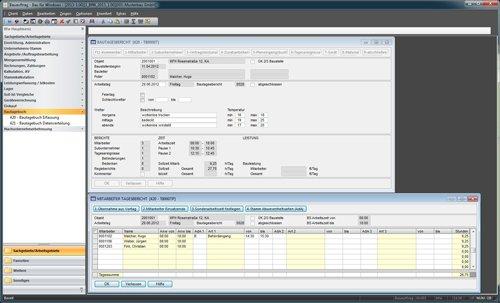 2. Produktbild Bau für Windows - integrierte Lösung für Bauunternehmen