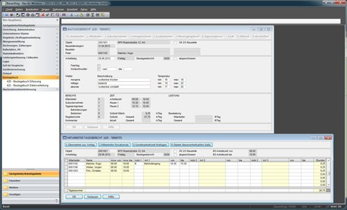 2. Produktbild Bau f�r Windows - integrierte L�sung f�r Bauunternehmen
