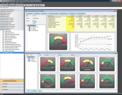 4. Produktbild Bau f�r Windows - integrierte L�sung f�r Bauunternehmen