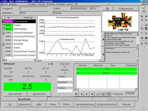1. Produktbild Messmittelintegration SAP Qualitätsmanagement - LIMS & CAQ - QM/3