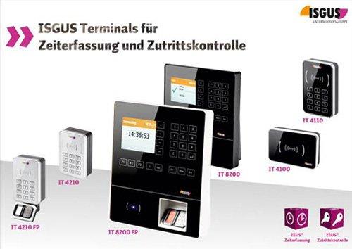 3. Produktbild ZEUS® Zeiterfassung / Zutrittskontrolle