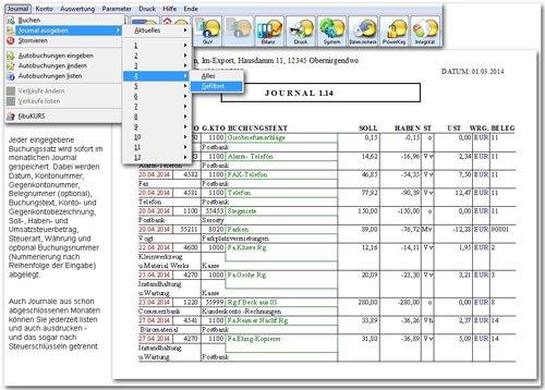 5. Produktbild fibuman - Finanzbuchhaltung - Buchhaltungssoftware