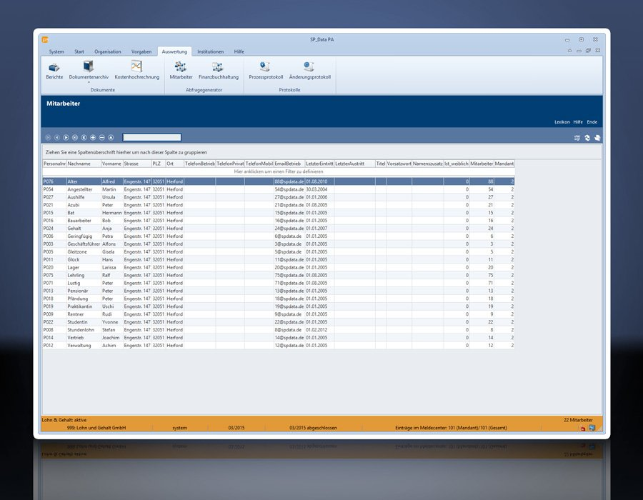 3. Produktbild SP_Data Personalabrechnung