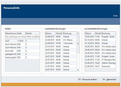 2. Produktbild SP_Data Personalzeitwirtschaft & Zutrittskontrolle