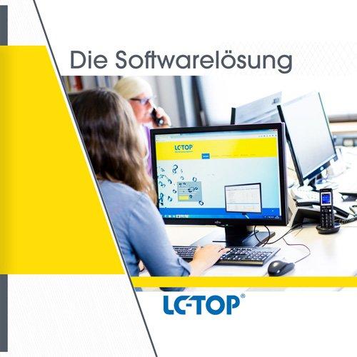 1. Produktbild LC-TOP - Handwerkersoftware für die Auftragsbearbeitung