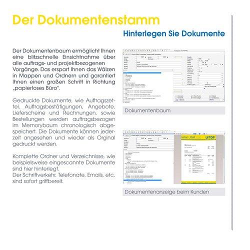 32. Produktbild LC-TOP - Handwerkersoftware für die Auftragsbearbeitung