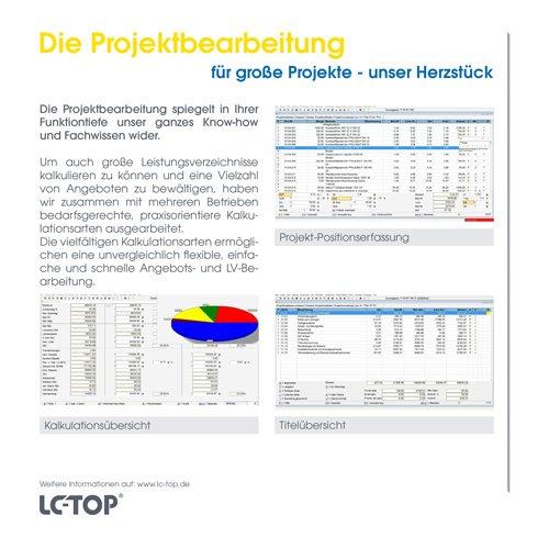 11. Produktbild LC-TOP - Kalkulationssoftware für GAEB