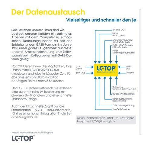 15. Produktbild LC-TOP - Kalkulationssoftware für GAEB