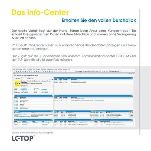 17. Produktbild LC-TOP Kundendienstsoftware für Sanitär-Heizung-Klima (SHK)