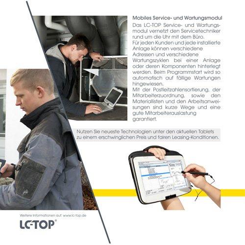31. Produktbild LC-TOP Kundendienstsoftware für Sanitär-Heizung-Klima (SHK)