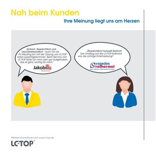 7. Produktbild LC-TOP Kundendienstsoftware für Sanitär-Heizung-Klima (SHK)