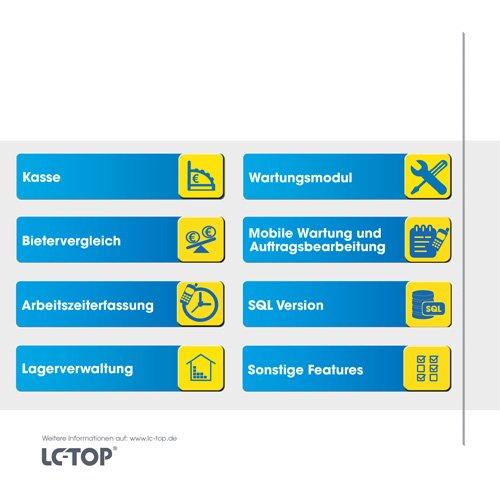 9. Produktbild LC-TOP Kundendienstsoftware für Sanitär-Heizung-Klima (SHK)