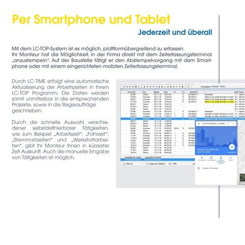23. Produktbild LC-TOP Mobil - Handwerksprogramm zur mobilen Auftragsbearbeitung
