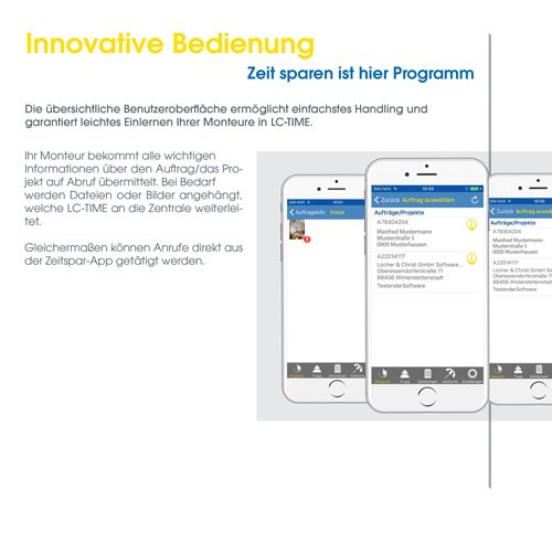 25. Produktbild LC-TOP Mobil - Handwerksprogramm zur mobilen Auftragsbearbeitung