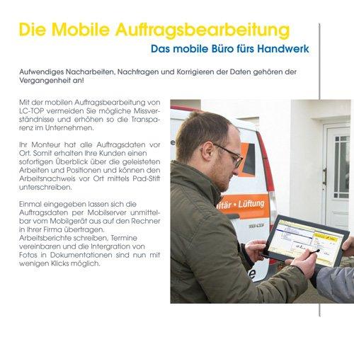 30. Produktbild LC-TOP Mobil - Handwerksprogramm zur mobilen Auftragsbearbeitung