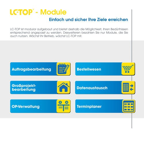 8. Produktbild LC-TOP Mobil - Handwerksprogramm zur mobilen Auftragsbearbeitung