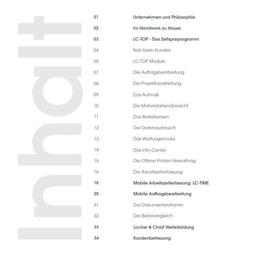 3. Produktbild LC-TOP-Zeiterfassung - Arbeitszeitenprofile Ihrer Mitarbeiter