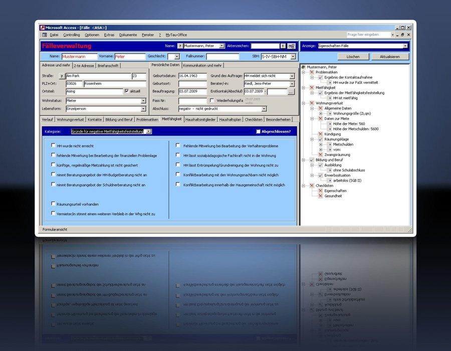 1. Produktbild Tau-Office Schwangerenberatung