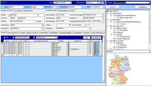 1. Produktbild Tau-Office Aufsuchende Sozialarbeit