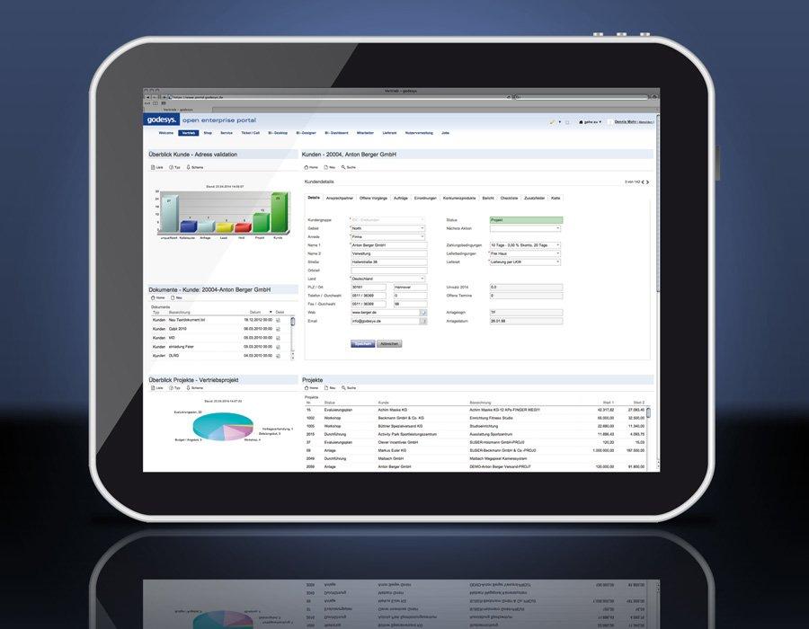 5. Produktbild godesys ERP Software