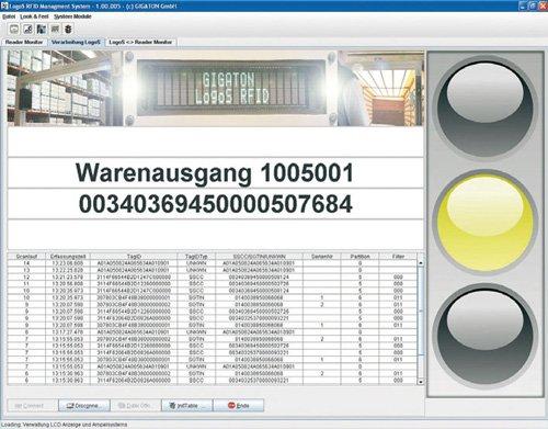 7. Produktbild LogoS C/S - Lagerverwaltung