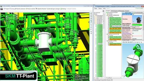 2. ProduktbildTT-PLANT - 3D CAD Lösung für die Rohrleitungsplanung
