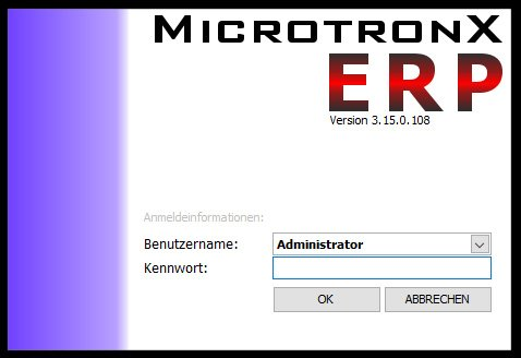 1. Produktbild MicrotronX ERP - Speditionssoftware