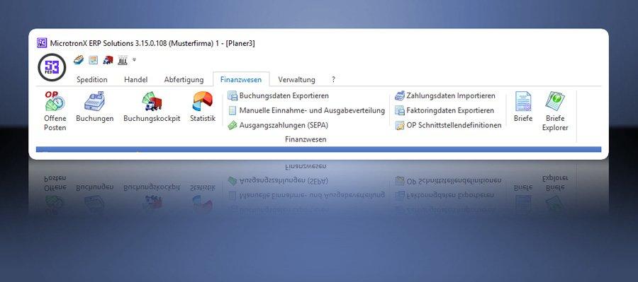 4. Produktbild MicrotronX ERP - Speditionssoftware