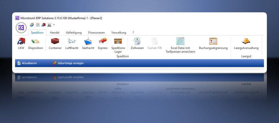 5. Produktbild MicrotronX ERP - Speditionssoftware