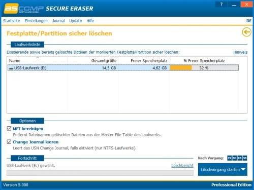 3. Produktbild Secure Eraser - Sicheres Löschen von Dokumenten und Festplatten