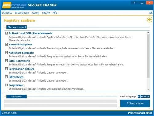 5. Produktbild Secure Eraser - Sicheres Löschen von Dokumenten und Festplatten
