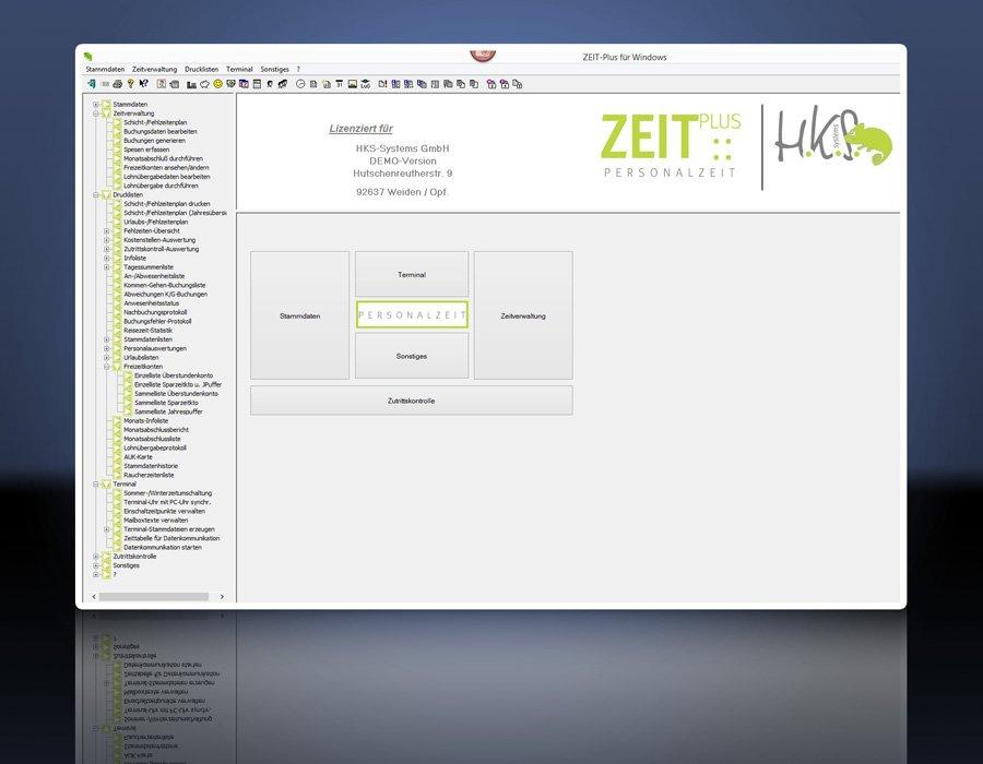 1. Produktbild ZEIT-Plus Zeiterfassung