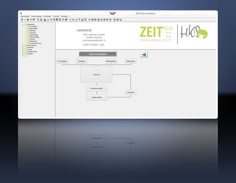 2. Produktbild ZEIT-Plus Zeiterfassung
