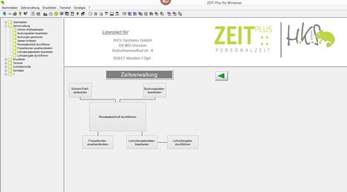3. Produktbild ZEIT-Plus Zeiterfassung