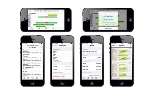 3. Produktbild MEP24web - Einsatzplanung mit integrierter Zeitwirtschaft