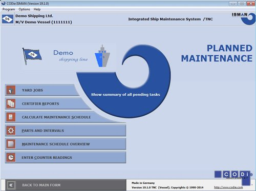 1. Produktbild CODie ISMAN - Ship Management and Fleet Management