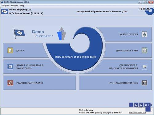 3. Produktbild  CODie ISMAN - Ship Management and Fleet Management