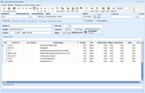 3. Produktbild TaxMetall - ERP / PPS / WWS für Fertigungsunternehmen u. Lohnfertiger