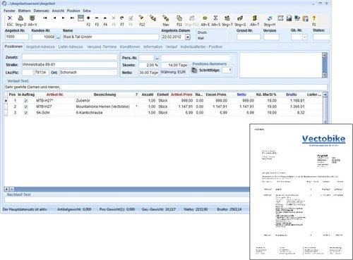 4. Produktbild TaxMetall - ERP / PPS / WWS für Fertigungsunternehmen u. Lohnfertiger
