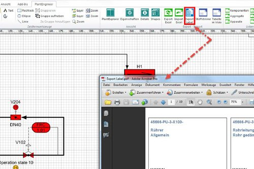 4. Produktbild PlantEngineer: P&ID-Software f�r den Anlagenbau