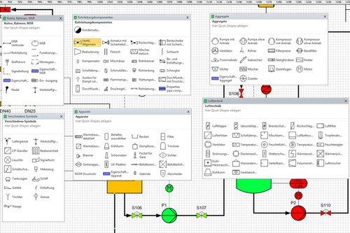 9. Produktbild PlantEngineer: P&ID-Software für den Anlagenbau