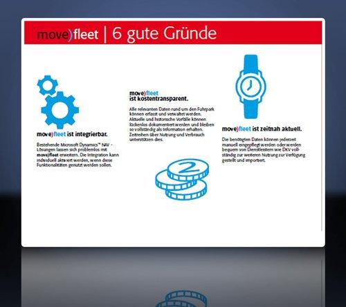 5. Produktbild move)fleet � Fuhrparkverwaltung Software