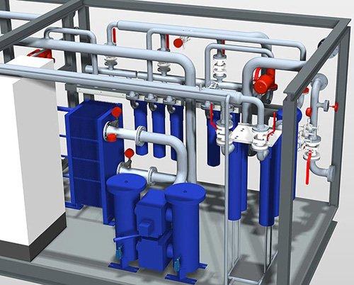 4. Produktbild Smap3D Plant Design: 3D CAD für Rohrleitungen und Anlagenbau