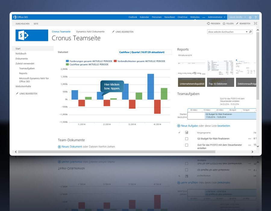 4. Produktbild Microsoft Dynamics NAV - ERP Komplettl�sung f�r den Mittelstand