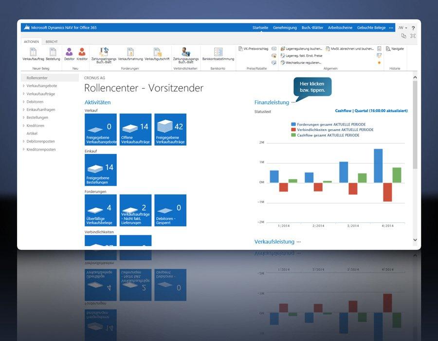5. Produktbild Microsoft Dynamics NAV - ERP Komplettl�sung f�r den Mittelstand