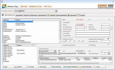 2. Produktbild DOMUS 1000 - Software f�r die Hausverwaltung