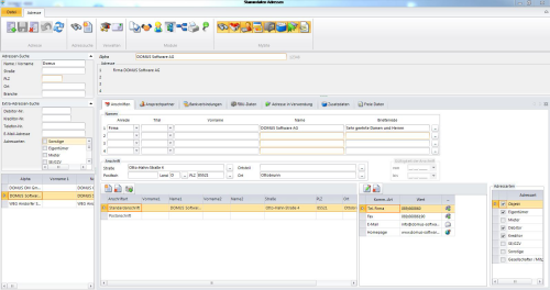 1. Produktbild   DOMUS 4000 - Professionelle Lösung für die Immobilienverwaltung