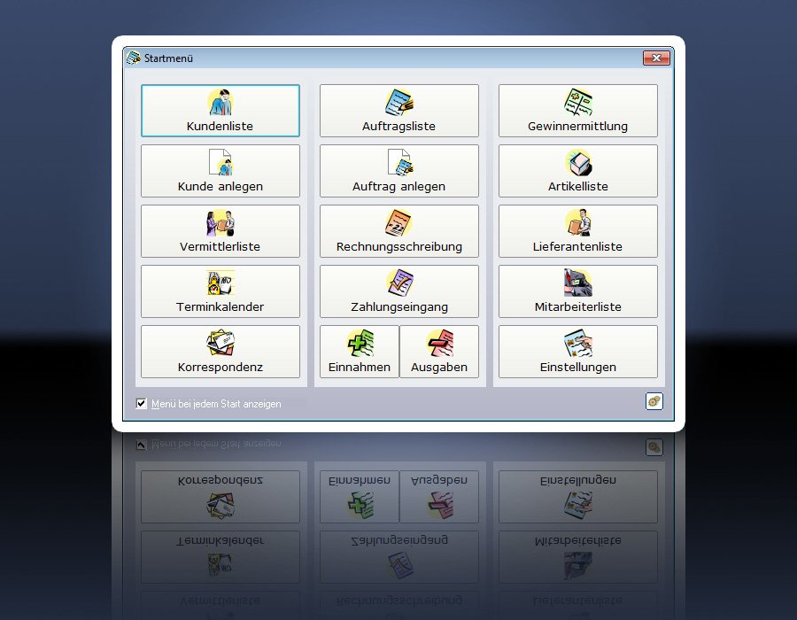 2. Produktbild ezAuftrag - Auftragsbearbeitung branchenneutral