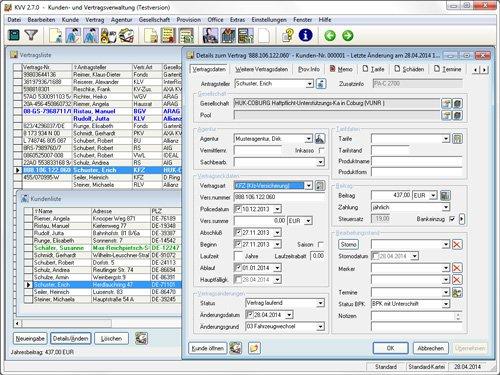 1. Produktbild KVV - Versicherungssoftware