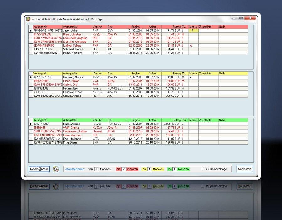 2. Produktbild KVV - Versicherungssoftware